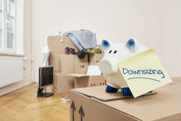 Downsizing boxes