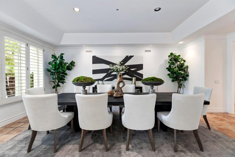 550 Spoleto, Palisades at living room design