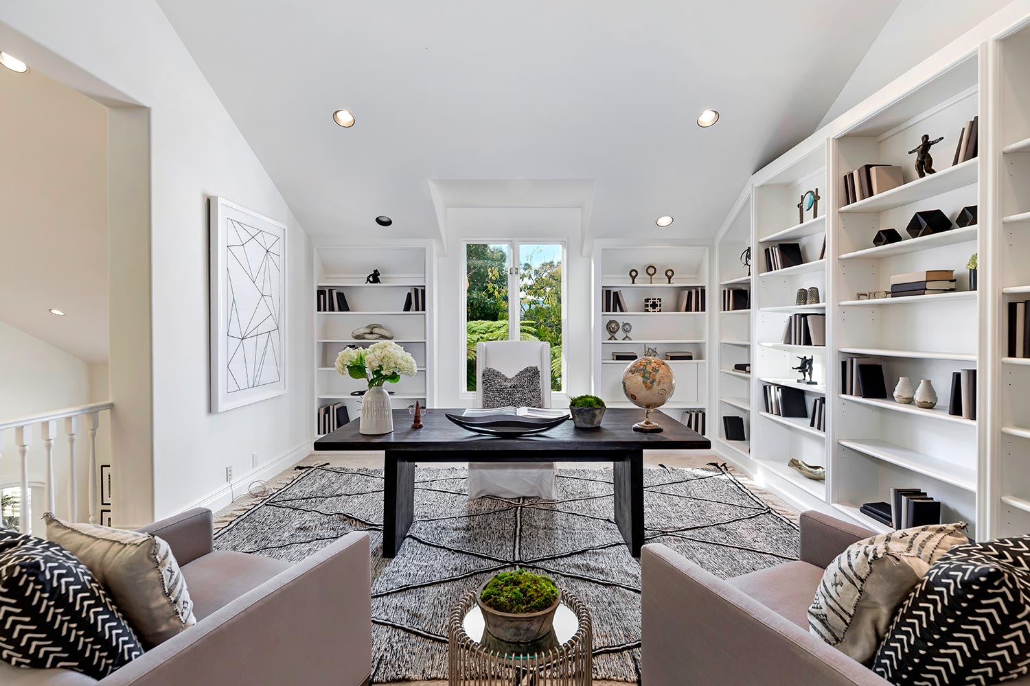 550 Spoleto, Palisades at home office design