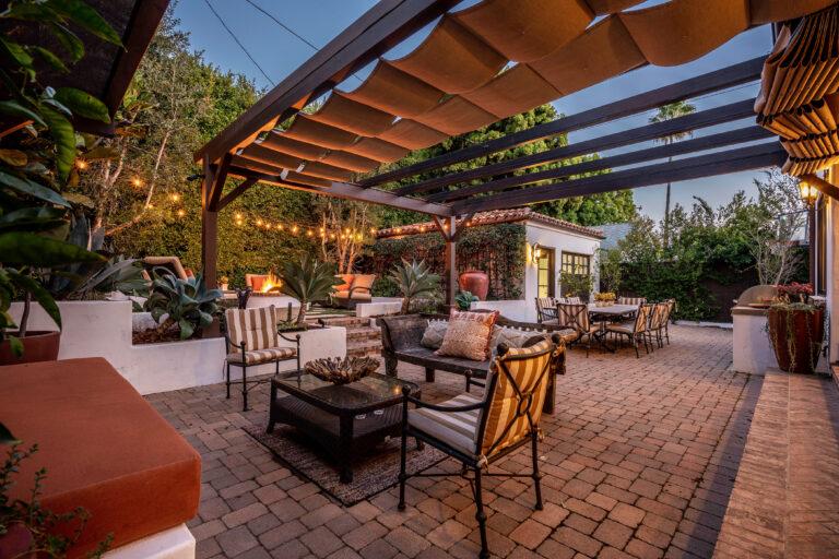 Pacific Palisades Real Estate backyard