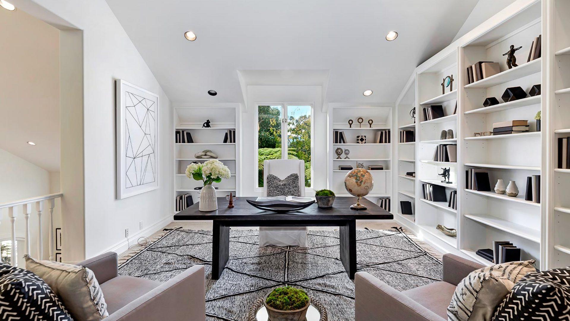 550 Spoleto, Palisades at home office design